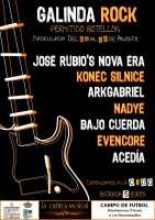 Cartel Galinda Rock - Toledo