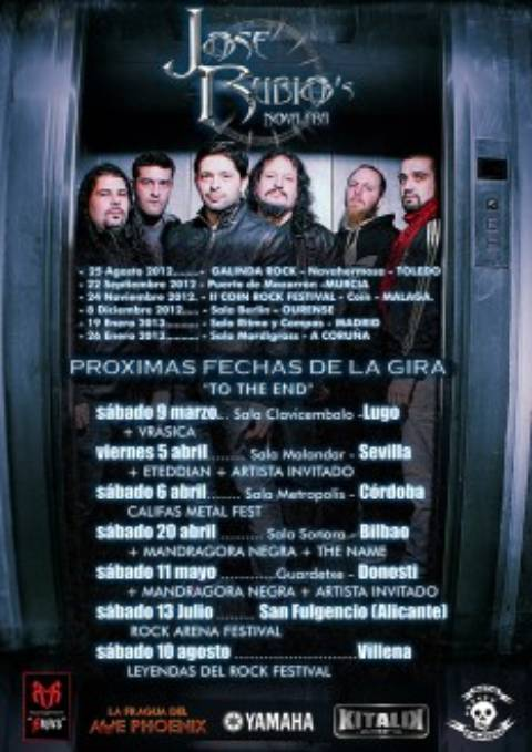 Conciertos Jose Rubio Nova Era 2013