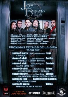 Gira Jose Rubio Nova Era 2013