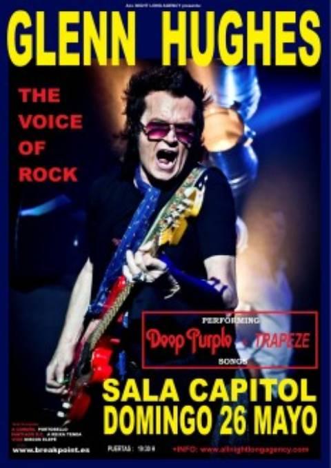 Gira española de Glenn Hughes, Sala Capitol, Sala Custom y Escenario
