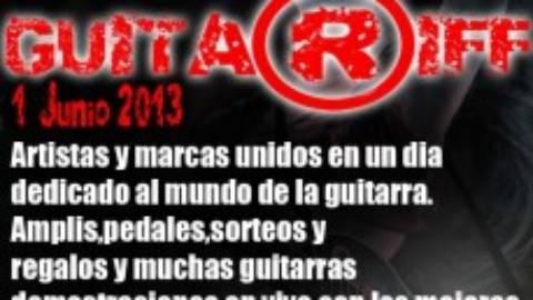 Primera edición evento Guitar Riff en Madrid. Los mejores guitarristas reunidos en Rockland