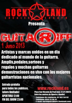 Festival Guitar Riff 2013 Madrid