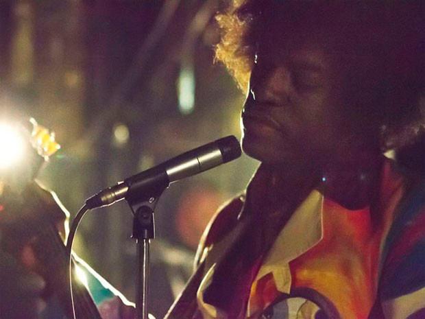 Rapero André 3000 como Jimi Hendrix