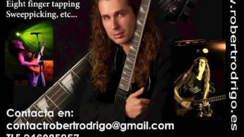 Clases de guitarra de Robert Rodrigo. Curso 2013-2014