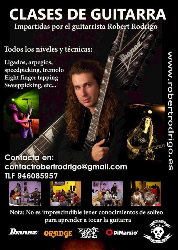 Clases guitarra RRR Guitar School