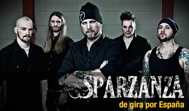 Gira española Sparzanza 2013