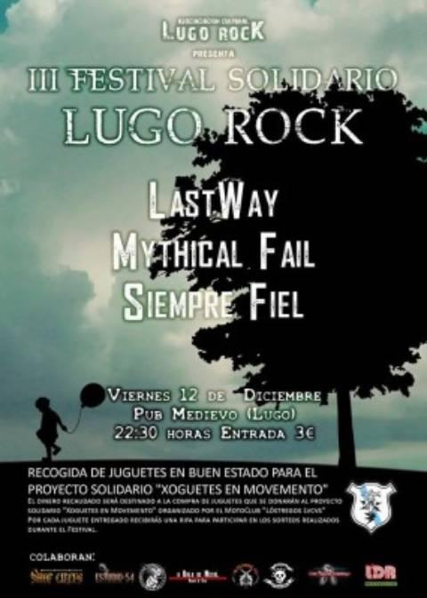 Calaveras solidarias en el Lugo Rock