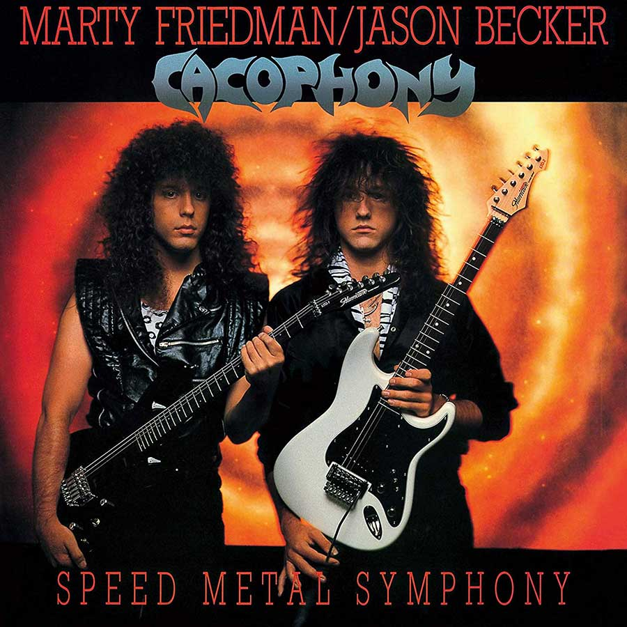 Review Cacophony Speed Metal Symphony