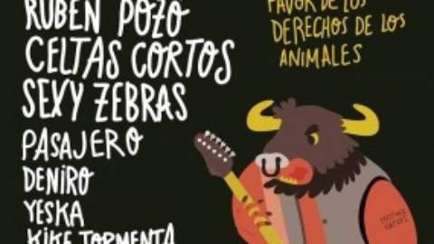 Cantando a lo animal: el primer festival para defender los derechos de los animales