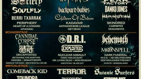 Soulfly, Oathbreaker y Betraying the Martyrs completan el Resurrection Fest