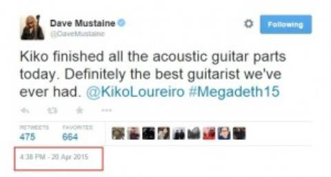 Dave Mustaine: «Nuestra música vuelve a ser agresiva»