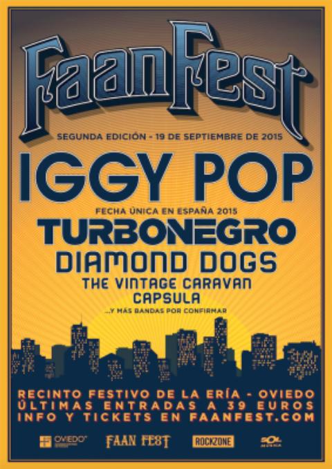 El Faan Fest añade nuevas bandas a su cartel
