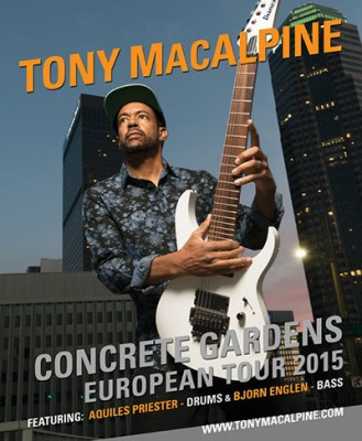 Gira europea 2015 Tony MacAlpine