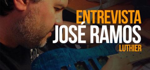 José Ramos (Ramos Guitars): «Fabricamos instrumentos para ser sentidos, para que sean parte de ti»