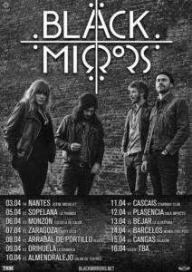 Cartel gira Black Mirrors 2018