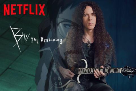 Un tema de Marty Friedman abre una nueva serie de Netflix
