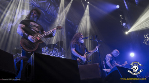 Crónica de Slayer y Angelus Apatrida en A Coruña