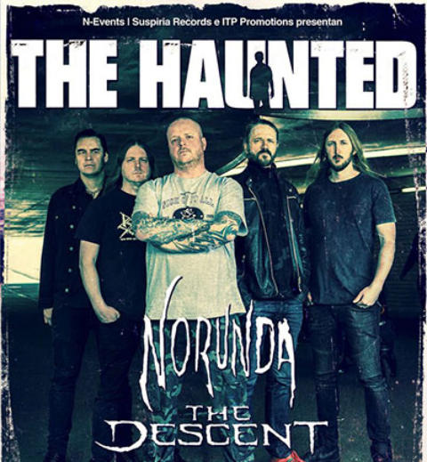 THE HAUNTED + NORUNDA + THE DESCENT