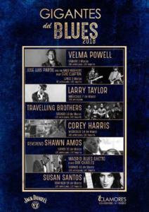 Cartel Festival Gigantes del Blues 2018
