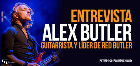 """Alex Butler: """"me fascina la cultura y la pasión de los guitarristas españoles"""""""