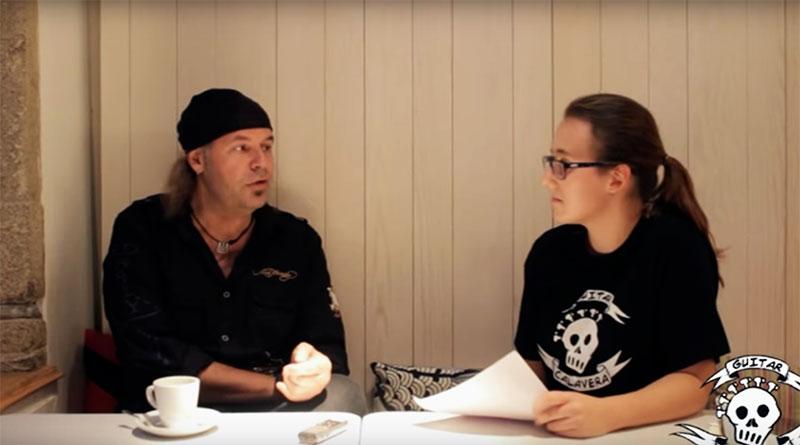 Entrevista al guitarrista Javier Vargas