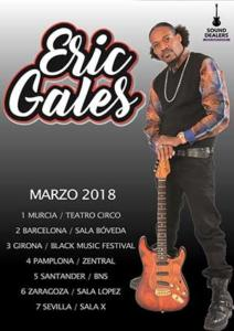 Cartel gira Eric Gales 2018