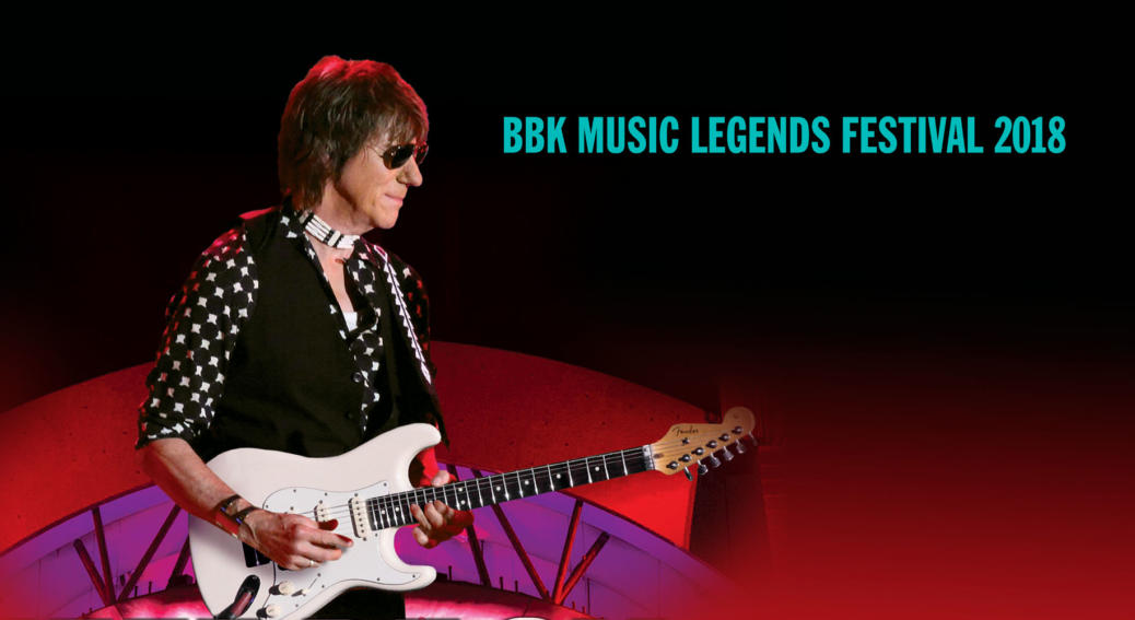 Jeff Beck BBK 2018