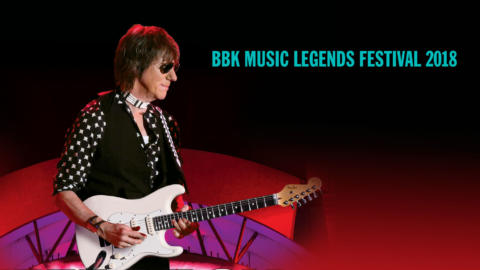 Jeff Beck , cabeza de cartel del BBK Music Legends Festival