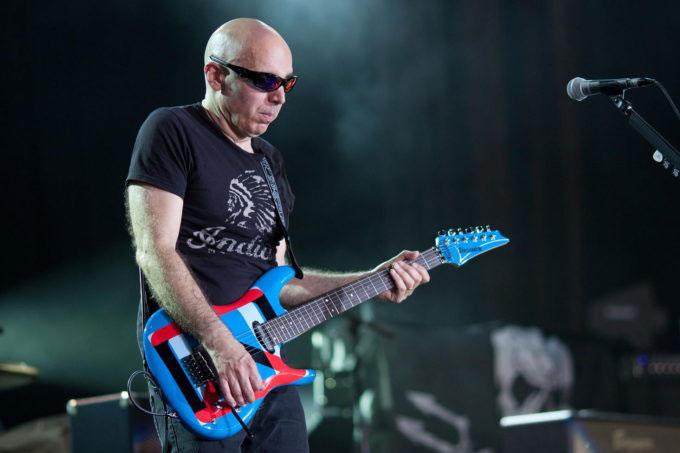 Joe Satriani directo importante para guitarristas