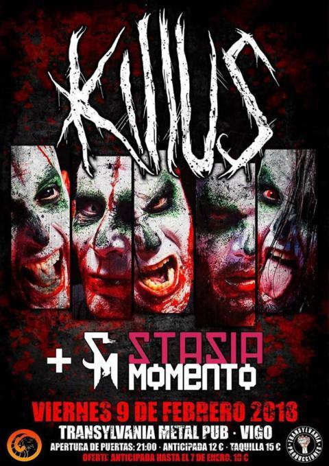 Killus + Stasia Momento @Transylvania