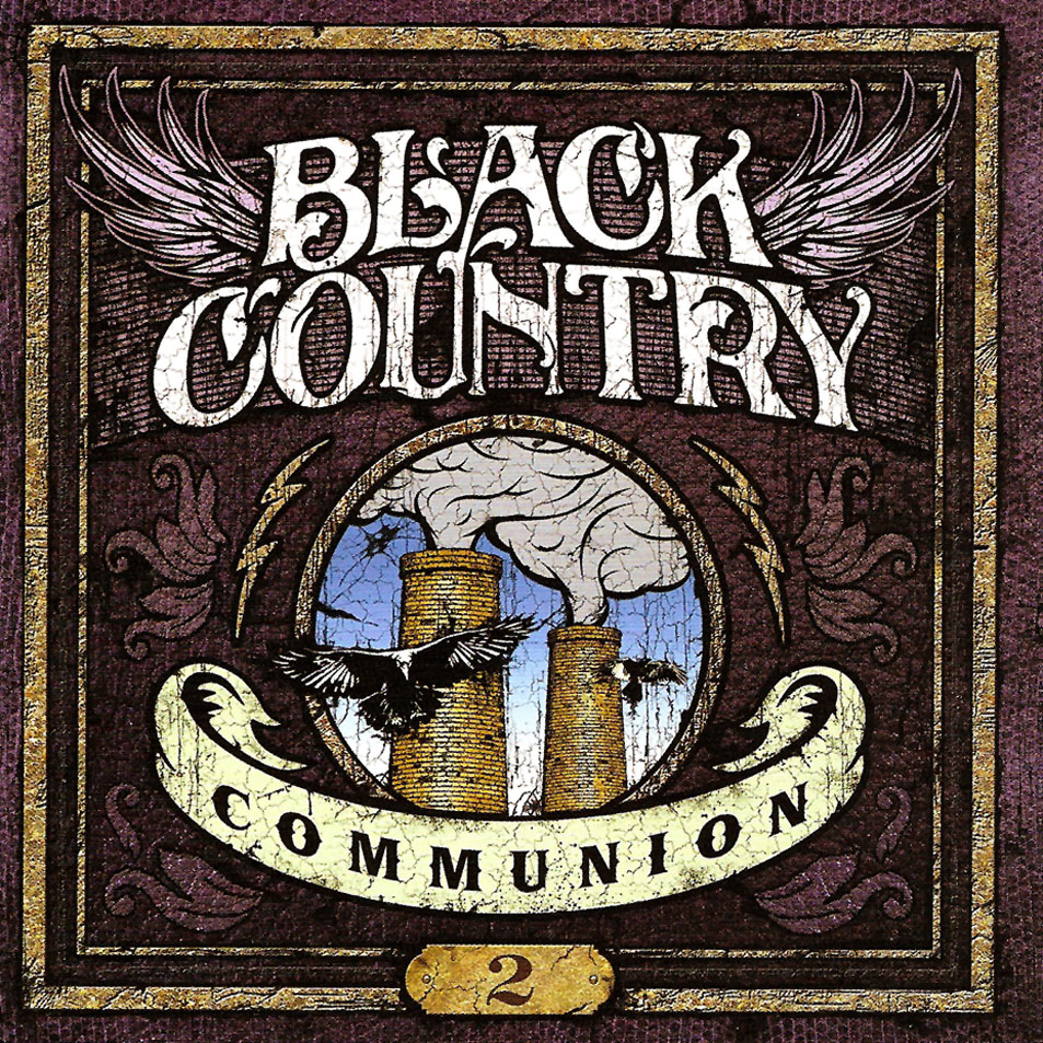 portada black Country Communion 2