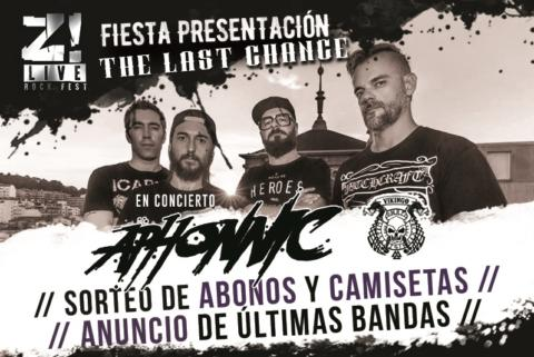 Fiesta de presentación Z! Live 2018: The Last Chance