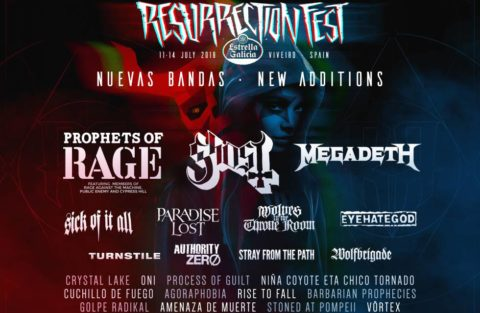 Segundas confirmaciones del Resurrection Fest 2018
