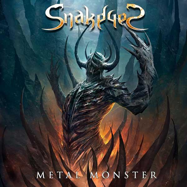 Portada Metal Monster Snakeyes