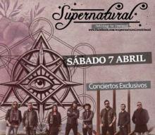 Supernatural + Stoned At Pomeii en Ferrol