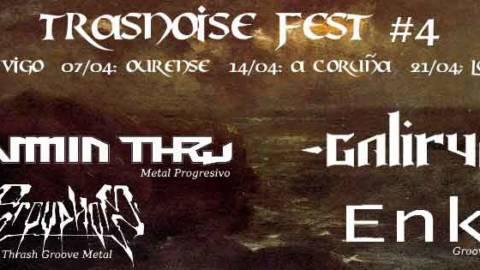 Trasnoise Fest 2018: 4 bandas de 4 provincias y de 4 estilos!