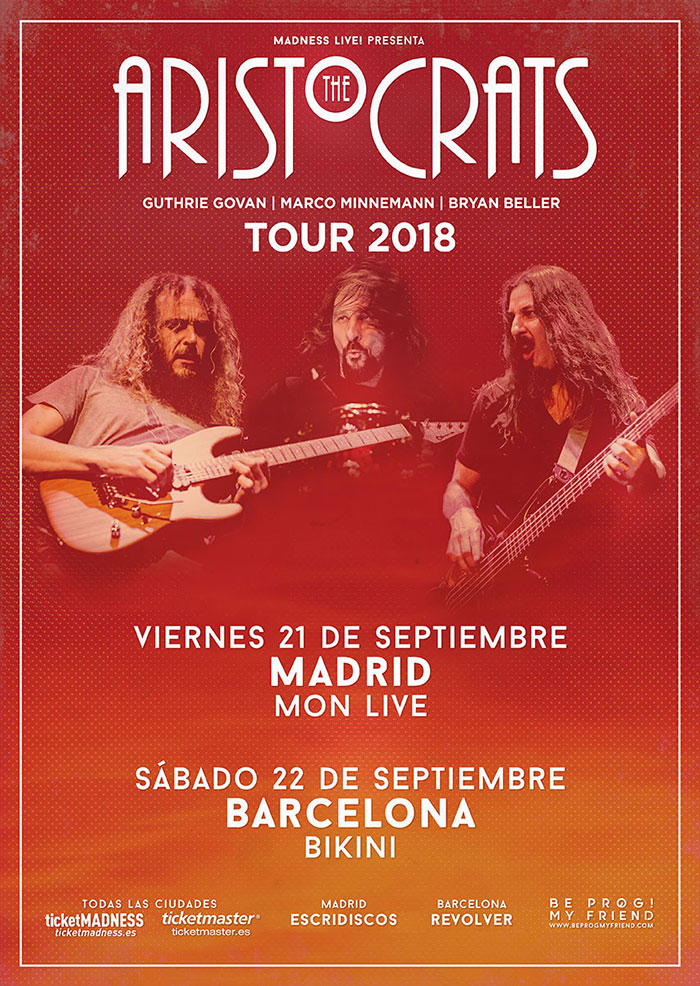 cartel conciertos The Aristocrats Guthrie Govan