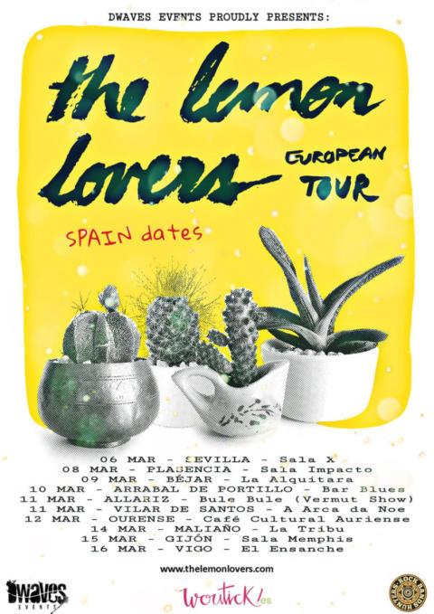 Se inicia la gira por España de los portugueses The Lemon Lovers