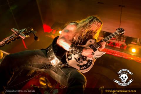 Crónica Black Label Society: Santiago ardió con los riffs incendiarios de Zakk Wylde