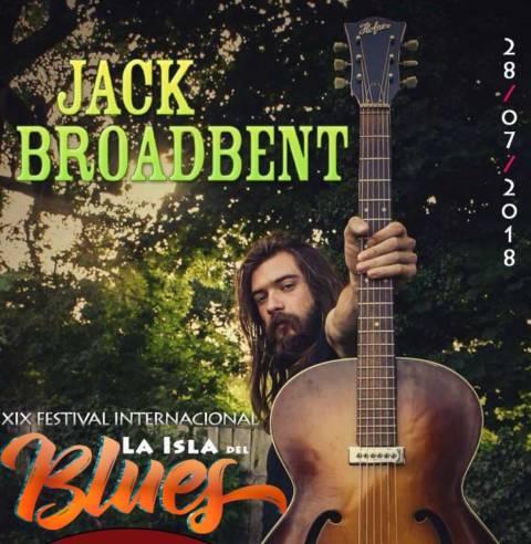 Jack Broadbent confirmado para el XIX Festival Internacional La Isla del Blues