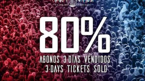 El Mejor Festival de Gran Formato de toda la Península Ibérica va camino de otro Sold Out: Más del 80% de los abonos vendidos
