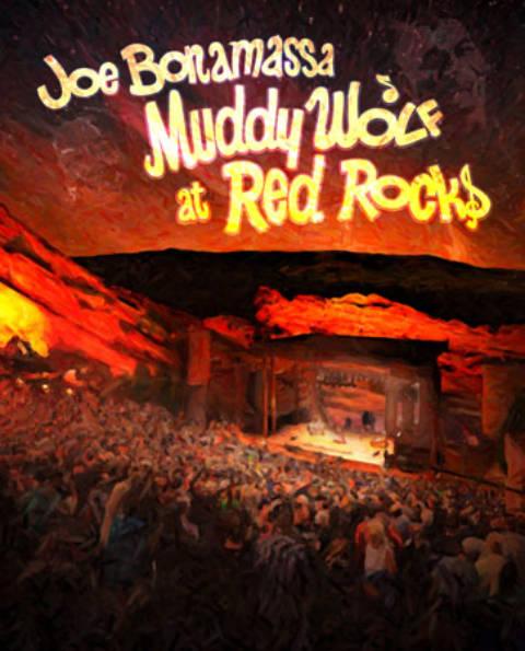 Cuando la perfección se plasma en un concierto y marco único… Joe Bonamassa con su Bluray «Muddy Wolf At Red Rocks»