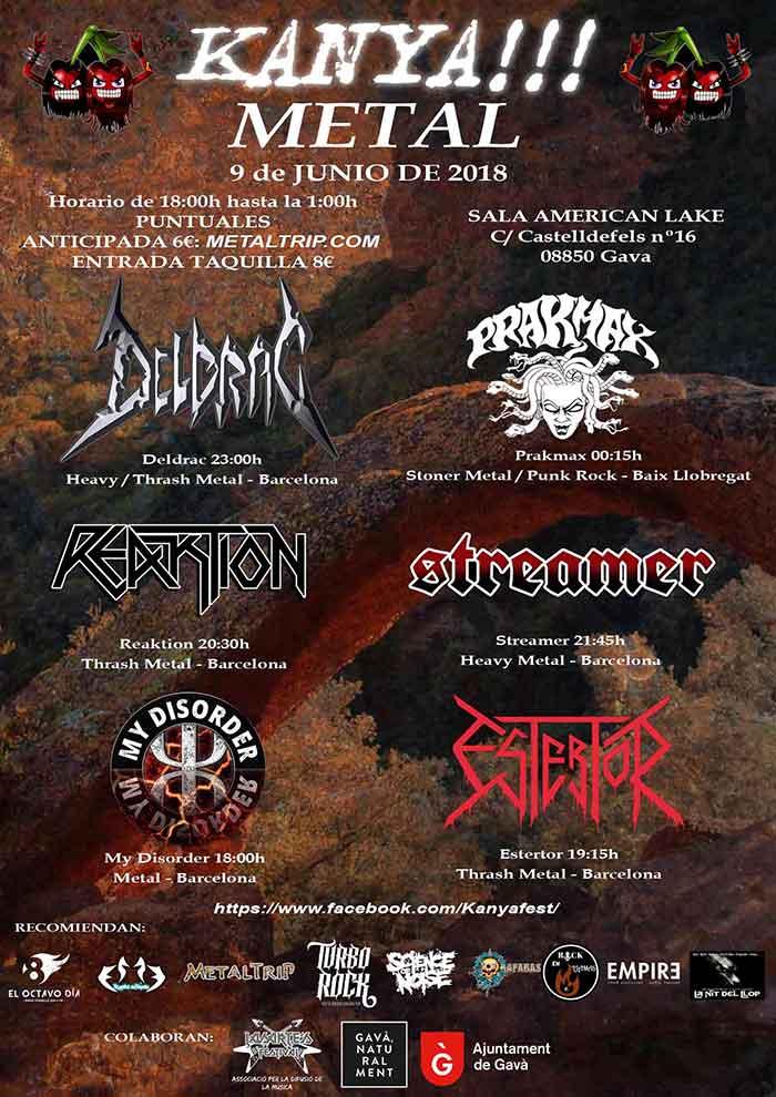 Cartel Kanya Metal Fest 2018