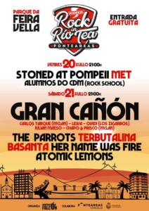 Cartel definitivo del Rock in Rio Tea 2018