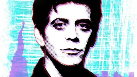 Leyendas Ilustradas del Rock: Lou Reed, el poeta del inframundo urbano.