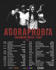 cartel gira Agoraphobia