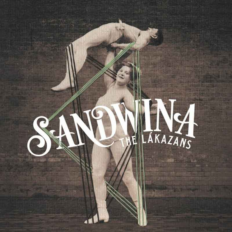 Portada The Lákazans Sandwina