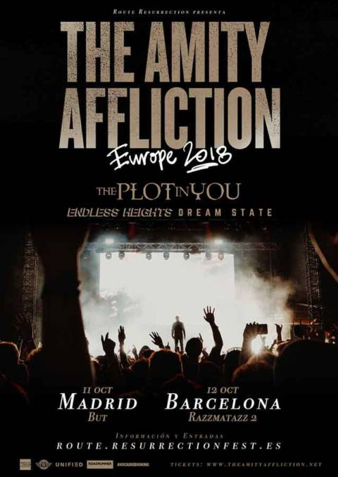 The Amity Affliction en una nueva gira Route Resurrection