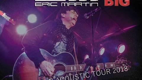 Gira en acústico de Eric Martin, voz de Mr. BIG
