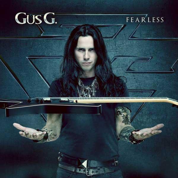 Portada disco Fearless Gus G